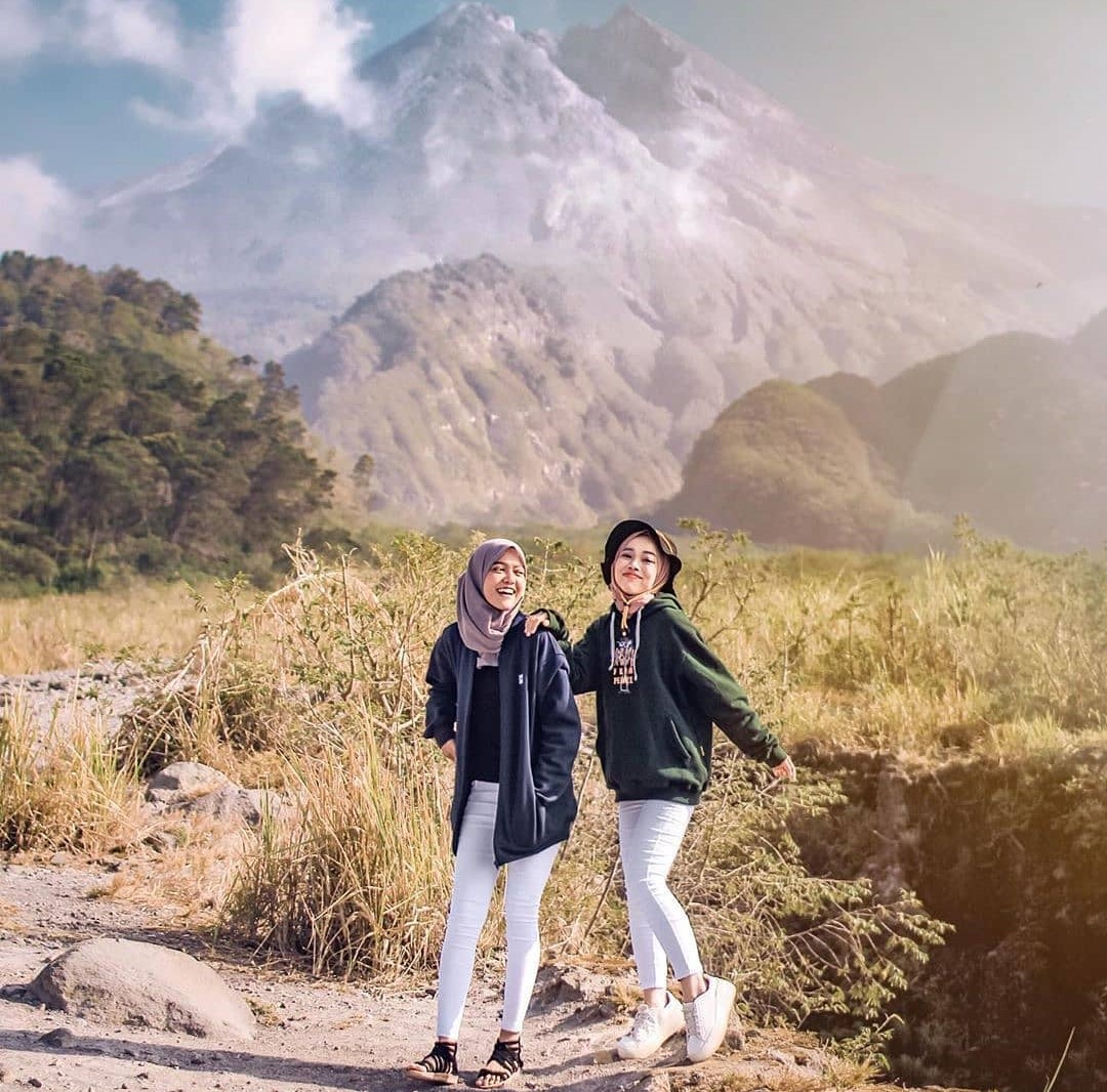 Gunung Merapi Kaliurang wisata alam sleman yogyakarta