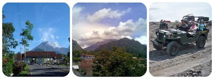 gunung merapi kaliurang