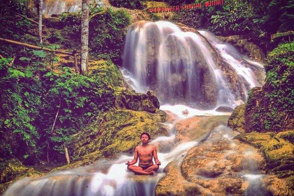 Taman Sungai Mudal Kulon Progo | Kunjungi Saat Musim Hujan