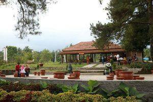 the world landamark merapi park jogja