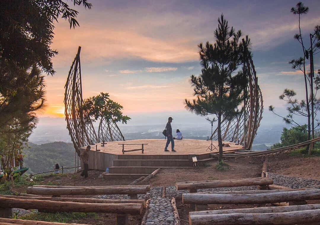 Bukit Lintang Sewu Dlingo Bantul  Harga Tiket Masuk & Rute Lokasi