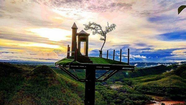 rute lokasi bukit panguk kediwung bantul mangunan jogja