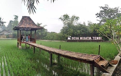 Desa wisata tembi rumah budaya jogja